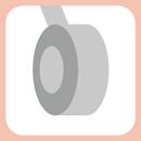 寬廣型吸震車輪